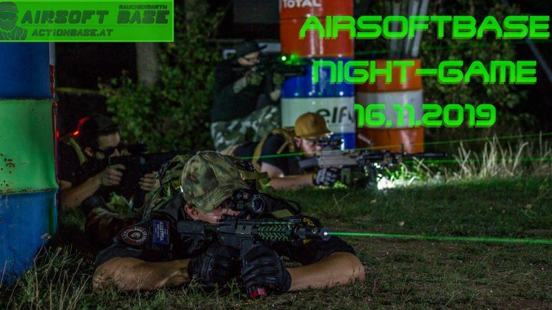 16.11.2019 Airsoftbase Rauchenwarth Nightgame (Niederösterreich)