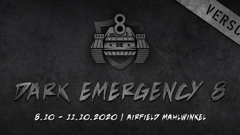 08.10.2020 – 11.10.2020 Dark Emergency 8 (Deutschland)