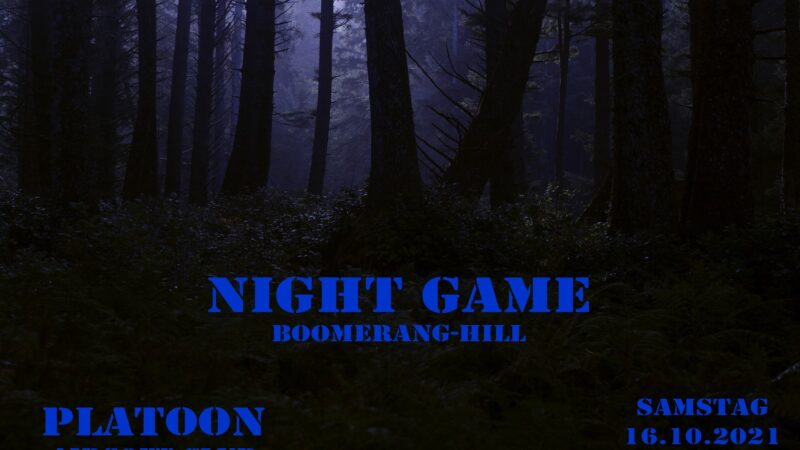 16.10.2021 Boomerang Hill NIGHT-FFA (Niederösterreich)